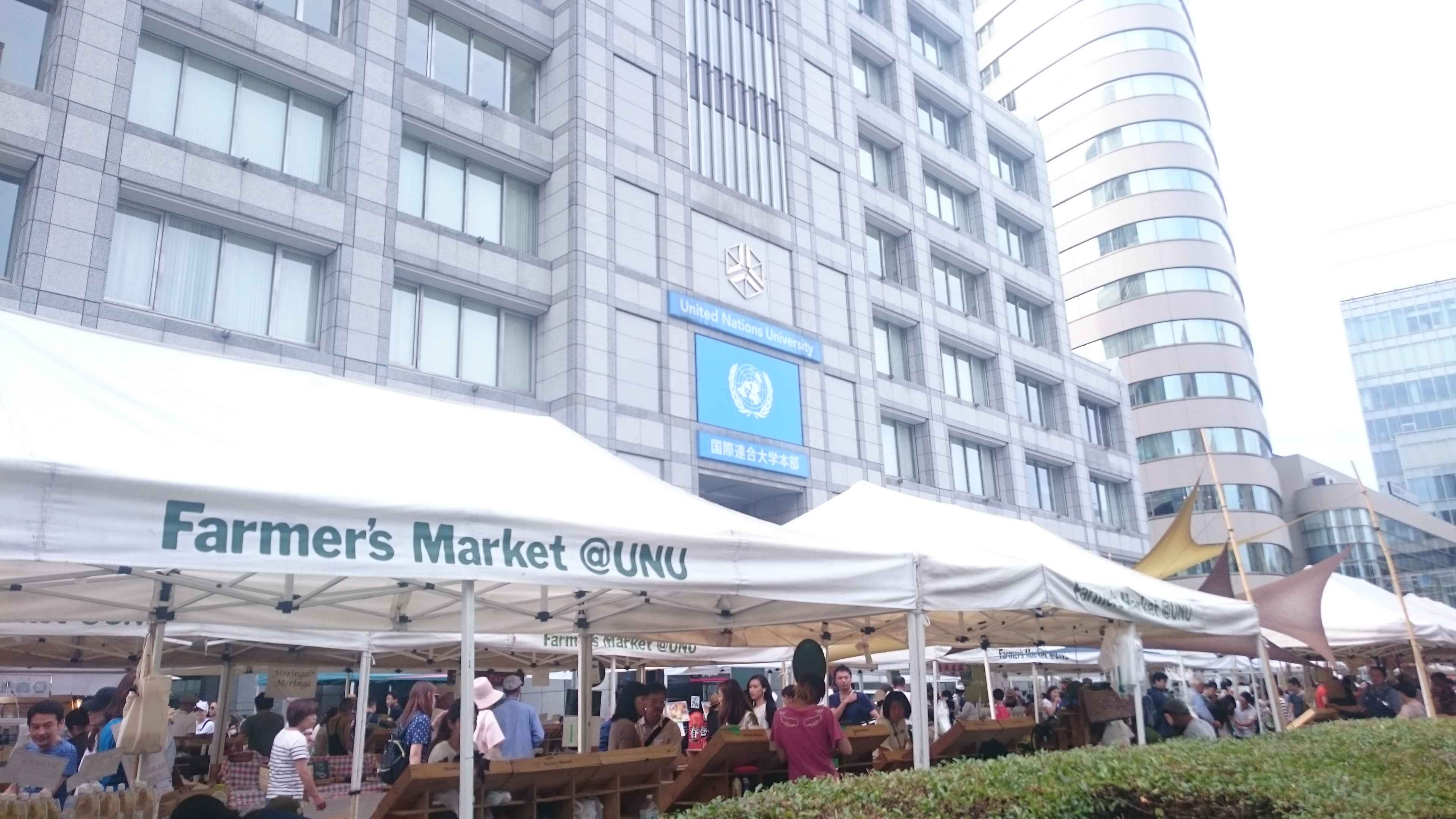 美味しい食べ物が、人への繋がりを作る『Farmer's Market(ファーマーズマーケット)』