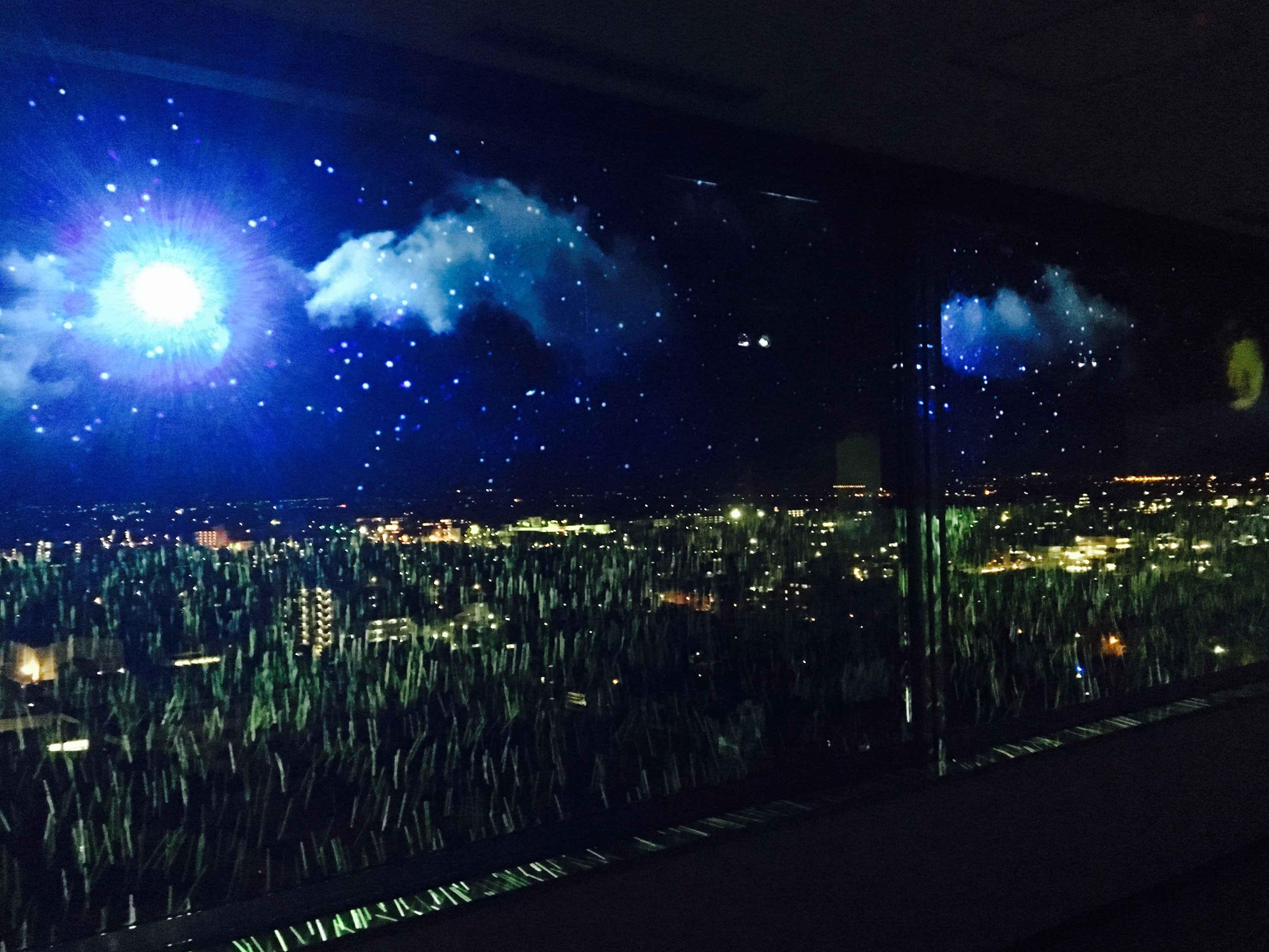 【佐賀】美しく夜景を彩るプロジェクションマッピング!『SAGA Night of Light by NAKED』