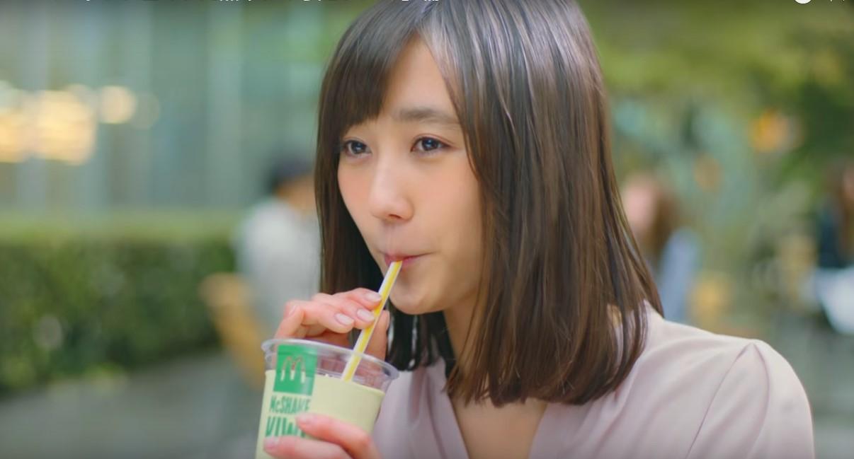 マックシェイク完熟キウイCMに出演している女の子は誰?かわいい女優さんが気になる!!