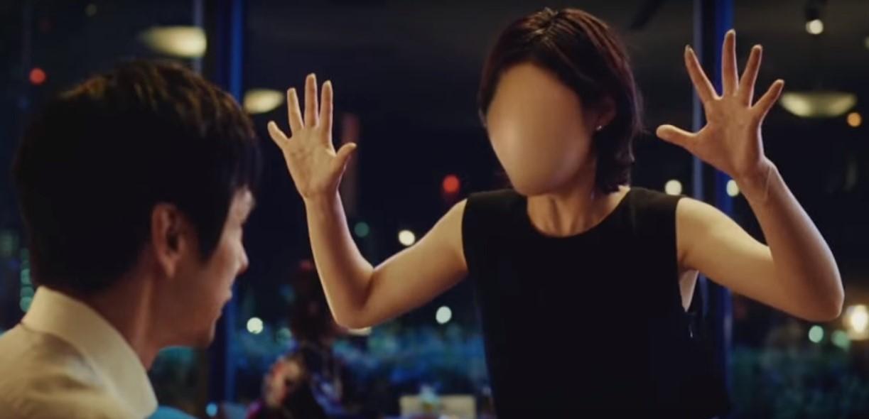 """ホットペッパーCMの女優は誰?西島秀俊と共演する""""のっぺらぼう""""の女性がちょっと怖い!"""