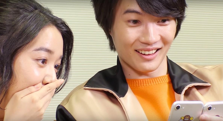 【CM NEWS】YahooJAPAN、君の名は。「ペア動画」CMに神木隆之介、上白石萌音が出演。