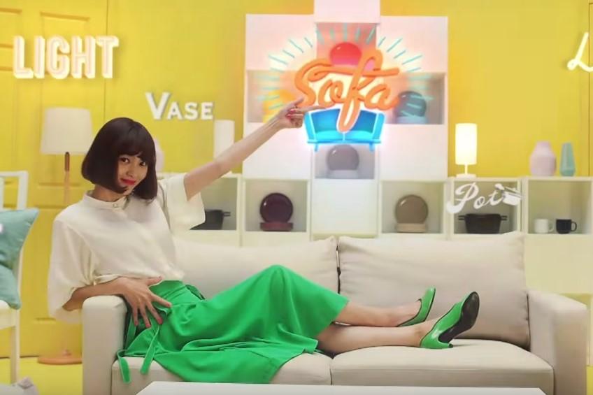 イオンお買い物アプリCMの女優は誰?緑のスカートで踊る女性が気になる!