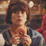 ドコモCMのドニマル役の俳優は誰?ドーナツ好きで食いしん坊な男性がイケメン!