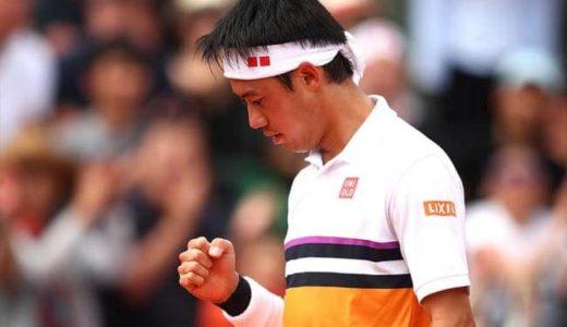 錦織圭!4回戦進出に歓喜!!全仏オープンテニス2019試合結果やテレビ放送情報をお届け!