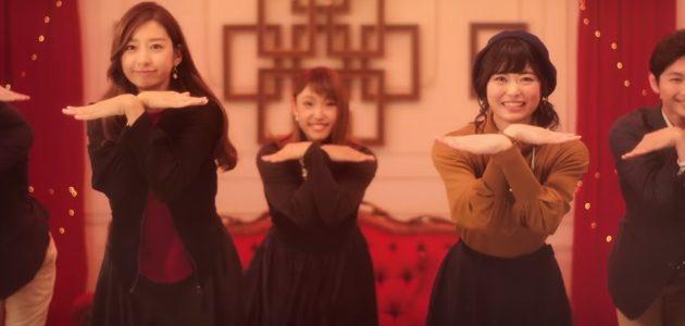高島屋(タカシマヤ)CMで踊る女性は誰?ダンスする女の子がかわいい!
